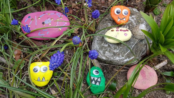 MINIMUKItastischer Kreativblog – Steine bemalen