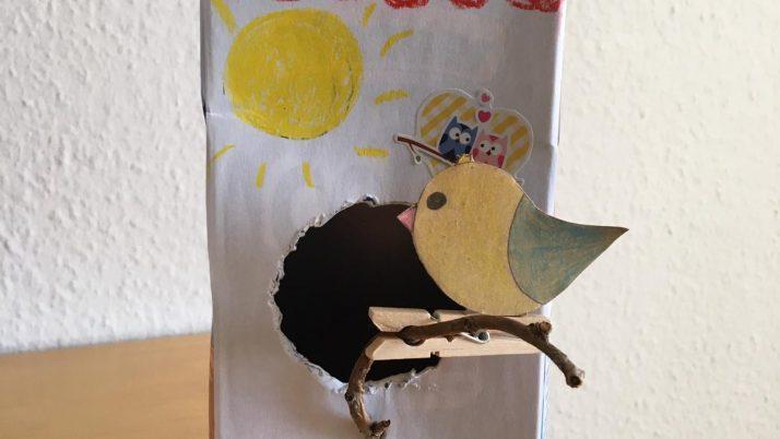 MINIMUKItastischer Kreativblog – Vogelhäuschen basteln